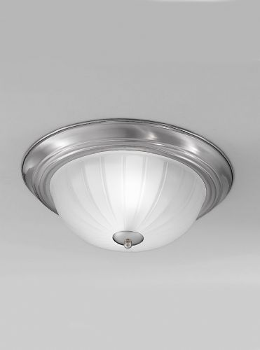 Franklite CF5641 Satin Nickel Flush Light